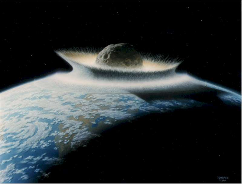meteoroids and asteroids hitting earth - photo #15